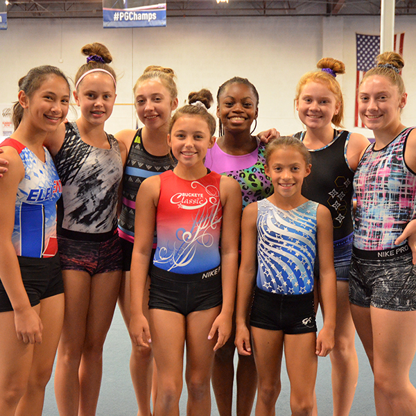 Competitive TeamUSAG 3-10, XCEL