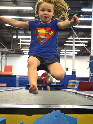Ninja Classes (ages 4-5 and 6-11)